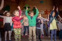 Festyn zorganizowany przez Przedszkole Sióstr Misjonarek św. Rodziny