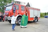 Uroczyste poświęcenie i przekazanie samochodu ratowniczo – gaśniczego OSP