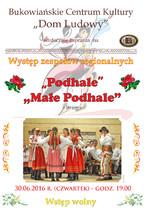 """""""Małe Podhale"""" i """"Podhale grupa Spiska"""" z Jurgowa"""