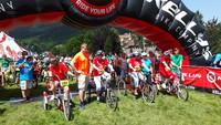 Sportowcy Fundacji HANDICAP Zakopane wystartowali w zawodach rowerowych