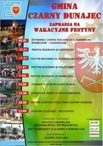 Wakacyjne Festyny w Gminie Czarny Dunajec