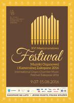 XVI Międzynarodowy Festiwal Muzyki Organowej i Kameralnej