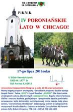 IV PIKNIK PORONIAŃSKIE LATO W CHICAGO!