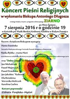 Koncert Pieśni Religijnych w wykonaniu Biskupa Antoniego Długosza