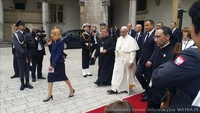 Papież Franciszek na Wawelu