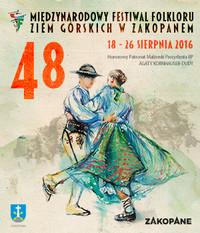 48. Międzynarodowy Festiwal Folkloru Ziem Górskich w Zakopanem