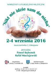 Warsztaty Liturgiczno-Muzyczne
