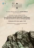 Konkurs Literacki im. Tadeusza Staicha