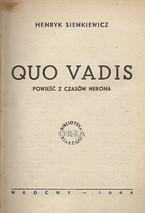"""Czytanie powieści """"Ouo vadis"""""""