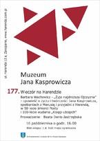 """177. Wieczór na Harendzie - Barbara Wachowicz - """"Żyje najdroższa Ojczyzna!"""""""