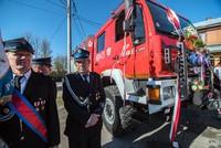 Wóz strażacki w Zaskalu - poświęcony