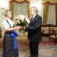 Złoty Krzyż Zasługi dla Pani Doroty Ząbkowskiej