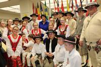 "Kolędowanie u skarbnika ""Cook County"" Treasures Marii Pappas"