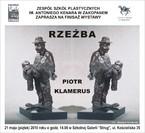 """Finisaż wystawy """"Rzeźba - Piotr Klamerus"""""""