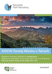 XXXVII Turniej Wiedzy o Tatrach
