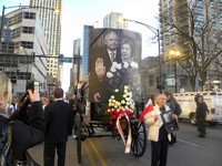 Marsz ulicami i Msza św. żałobna