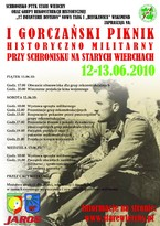 I Gorczański Piknik Historyczno-Militarny