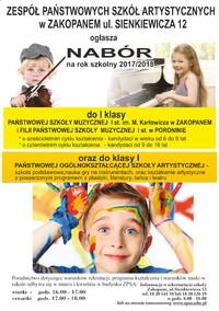 Zespół Państwowych Szkół Artystycznych w Zakopanem