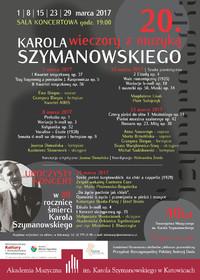 Wieczory z muzyką Karola Szymanowskiego
