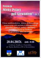 """""""Wielcy Polacy pod Tatrami"""" cz. 2."""