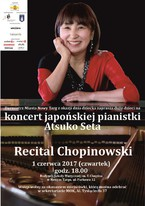 Recital Chopinowski japońskiej pianistki Atsuko Seta