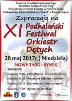 XI Podhalański Festiwal Orkiestr Dętych