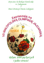 VII Małopolska Olimpiada Jajcarska