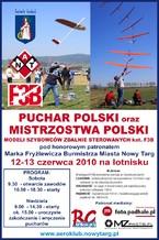Puchar Polski oraz Mistrzostwa Polski Modeli Szybowców Zdalnie Sterowanych kat. F3B