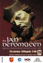 Wystawa rzeźb Św. Jana Nepomucena ze zbiorów muzeum im. Wł. Orkana