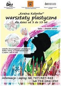 Kraina Kolorów, czyli zajęcia plastyczne dla dzieci