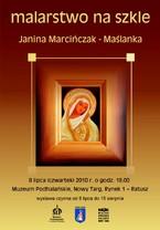 Malarstwo na szkle - Janina Marcińczak-Maślanka