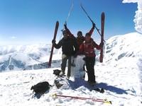 Wspomnienie sezonu ski-turowego