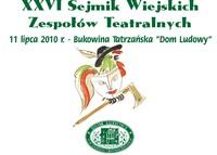 XXVI Sejmik Wiejskich Zespołów Teatralnych