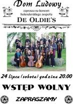 Koncert holenderskiego zespołu De Oldie's