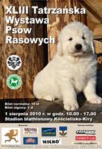 XLIII Tatrzańska Wystawa Psów Rasowych