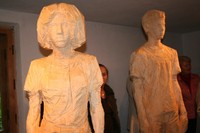 Rzeźby Józefa Nowaka w Galerii Antoniego Rząsy