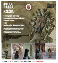 Wystawa Antoniego Rząsy w tynieckim klasztorze