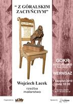 Malarstwo i rzeźba Wojciecha Łacka