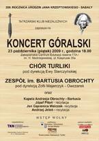 Koncert góralski w 200. rocznicę urodzin Sabały