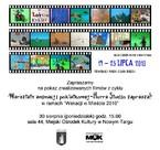 """Pokaz filmów zrealizowanych w ramach """"Wakacji w mieście"""""""