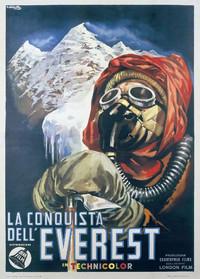Plakat filmu o zdobyciu Mount Everestu