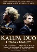 Gwiazdy w Grand Nosalowym Dworze - Duet Kallpa Duo