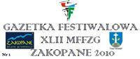 XLII MFFZG - Gazetka Festiwalowa