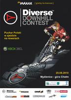 Finał Pucharu Polski w zjeździe na rowerach