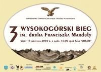 III Wysokogórski Bieg im. druha Franciszka Marduły