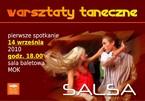 Warsztaty taneczne - salsa