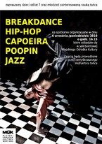 BREAK DANCE, HIP-HOP, JAZZ, POOPIN, CAPOEIRA…
