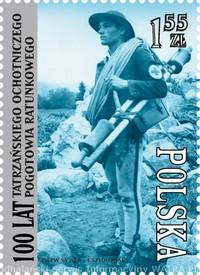 Poczta Polska uczciła 100. rocznicę powstania Tatrzańskiego Ochotniczego Pogotowia Ratunkowego