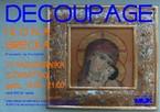 Decoupage – ikona grecka