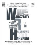 """Wystawa """"Warsztaty Rysunkowe Harenda"""""""